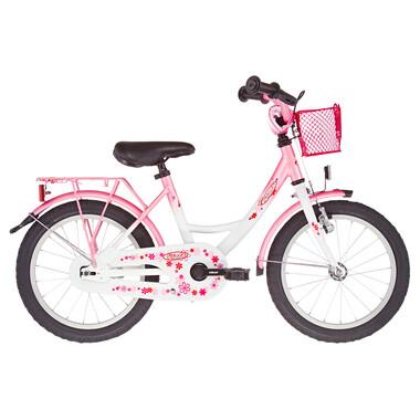 "Vélo Enfant VERMONT GIRLY 16"" Blanc/Rose 2021"